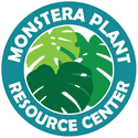 Monstera Plant Resource Logo
